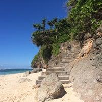 Photo taken at Bali Cliff Beach by Boedi W. on 2/6/2015