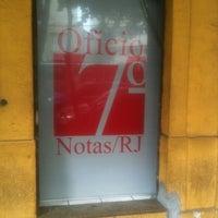 Photo taken at Cartório Do 7° Ofício De Notas by Julio R. on 7/9/2013