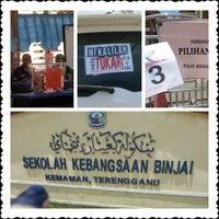 Photo taken at Sekolah Kebangsaan Binjai by Pe4RL I. on 5/5/2013