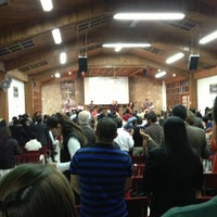 Photo taken at Auditorio Iglesia Cristiana Filadelfia Central by Carlos D. on 4/28/2013