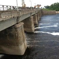 Снимок сделан в Плотина Иваньковской ГЭС пользователем Yulia K. 6/9/2013