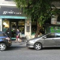 Photo taken at Goût Café by Damian P. on 3/7/2015