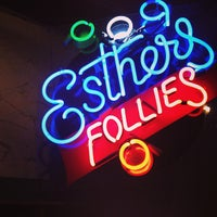 Photo taken at Esther's Follies by Zachary W. on 3/11/2013