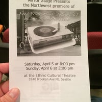 Photo taken at Ethnic Cultural Theater by Jason C. on 4/6/2014