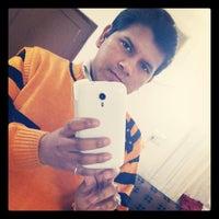Photo taken at Moradabad by Vishal R. on 2/10/2014