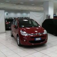 Photo taken at Citroën Milano by Davide M. on 10/8/2013