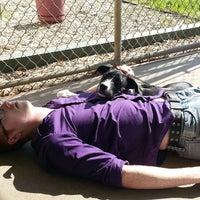 Photo taken at Salina Dog Park by Erin H. on 5/10/2013