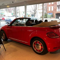 Photo taken at Prestige Volkswagen of Stamford by Andrew M. on 4/13/2018