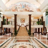 Photo taken at British Colonial Hilton by Susanna M. on 7/9/2013