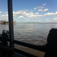 Photo taken at Restaurante Flutuante Beira Rio by Lucas O. on 6/16/2014