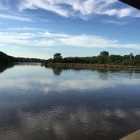 Photo taken at the Gazebo On The Riverwalk by Jim H. on 6/17/2015