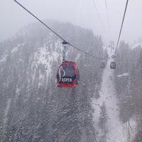 Photo taken at Aspen Mountain by Heath T. on 2/22/2013