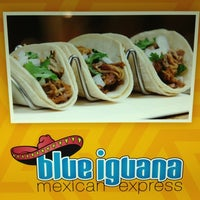 Photo taken at Blue Iguana Mexican Express by Andrey R. on 6/25/2013
