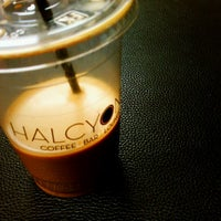 Photo taken at Halcyon Coffee, Bar & Lounge by JAY J. on 2/8/2011