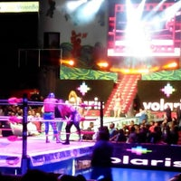 Photo taken at Arena México by Lorena C. on 11/25/2015