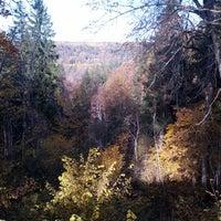Photo taken at Satezeles kanjons by Sintija V. on 10/12/2013