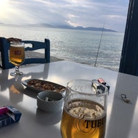 Photo taken at Calender Balık Restaurant & Beach by TC Hülya A. on 2/19/2017