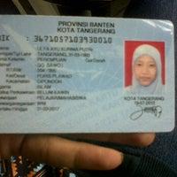 Photo taken at Kantor Kecamatan Cipondoh by Ulfa Ayu K. on 11/19/2012