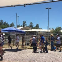 Photo taken at Prescott Rodeo Grounds by Linda T. on 6/30/2018