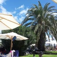 Photo taken at Poolside, Hotel Los Jameos Playa by Hans T. on 9/30/2013