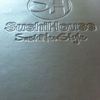 Photo taken at Sushi House by Cornelio G. on 9/14/2013
