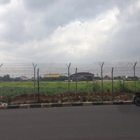 Photo taken at Pondok Cabe Airport (PCB) by Alex I. on 1/21/2017