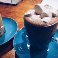 Снимок сделан в The Blue Cup пользователем Anastasiya P. 11/2/2014
