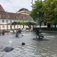 Foto diambil di Tinguely-Brunnen oleh Thomas K. pada 6/24/2018