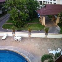Photo taken at President Hotel by Sompob T. on 5/12/2013