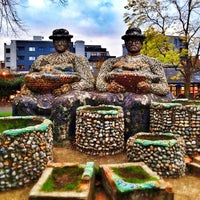 Photo taken at London Fields by Saul T. on 10/12/2012