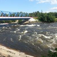 Photo taken at Озёрно-речная система «Вуокса» by Светлана Д. on 7/14/2013