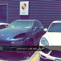 Photo taken at Porsche Service Center by MoMe'Z on 4/10/2016