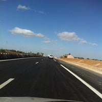 Photo taken at Highway A1 by mezghani m. on 1/19/2014
