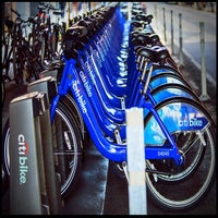 Photo taken at Citi Bike Station by Paul William L. on 4/17/2014