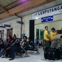Photo taken at Stasiun Lempuyangan by Anggi A. on 11/17/2012
