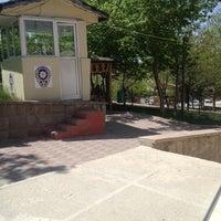 Photo taken at Sehit Erkan Ataman Karakolu by Mikail T. on 5/5/2013