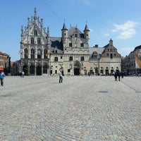 Photo taken at Grote Markt by Liam K. on 5/1/2013