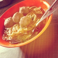 Photo taken at Bakso Awang Long by MariaScolastika L. on 12/22/2012