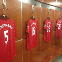 Photo taken at Manchester United Museum & Tour Centre by Sunny B. on 4/30/2013