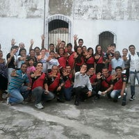 Photo taken at Igreja Adventista do Sétimo Dia - Jurunas 1 by Andreza O. on 1/13/2014