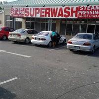 Photo taken at Superwash Gibbs Corner by Chippie C. on 9/8/2013