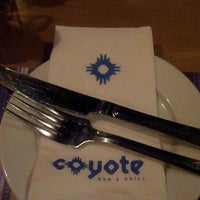 Photo taken at Coyote Bar & Grill by Fiona H. on 10/27/2012
