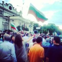 7/5/2013 tarihinde Svetly D.ziyaretçi tarafından пл. Народно събрание (Narodno sabranie Sq.)'de çekilen fotoğraf