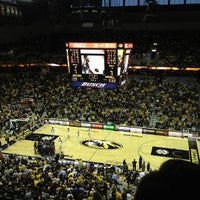 Photo taken at Mizzou Arena by Chris S. on 1/5/2013