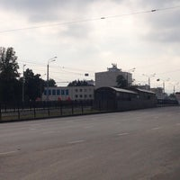 Photo taken at Трамвайная остановка «ДК Химиков» by Albert U. on 8/3/2014