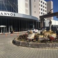 Das Foto wurde bei Grannos Thermal & Convention Hotel von 🅾️ K T 🅰️ Y . am 11/1/2017 aufgenommen