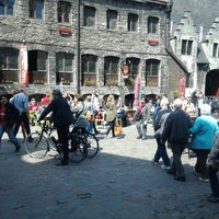 Photo taken at 't Gouden Mandeke by Chris S. on 5/1/2013