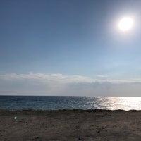 Photo taken at Velika Beach by Xristos ✈️ X. on 9/12/2018