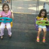 Photo taken at Şehit Fethi Parkı by Али З. on 6/18/2014