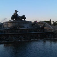 Photo taken at Gefion Fountain by Роман Ш. on 5/16/2013